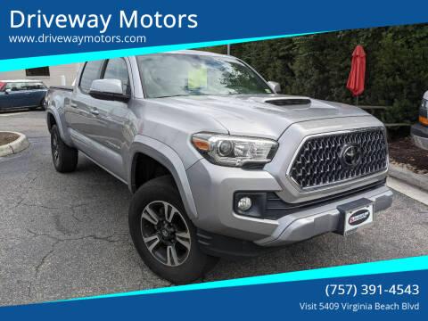 2018 Toyota Tacoma for sale at Driveway Motors in Virginia Beach VA