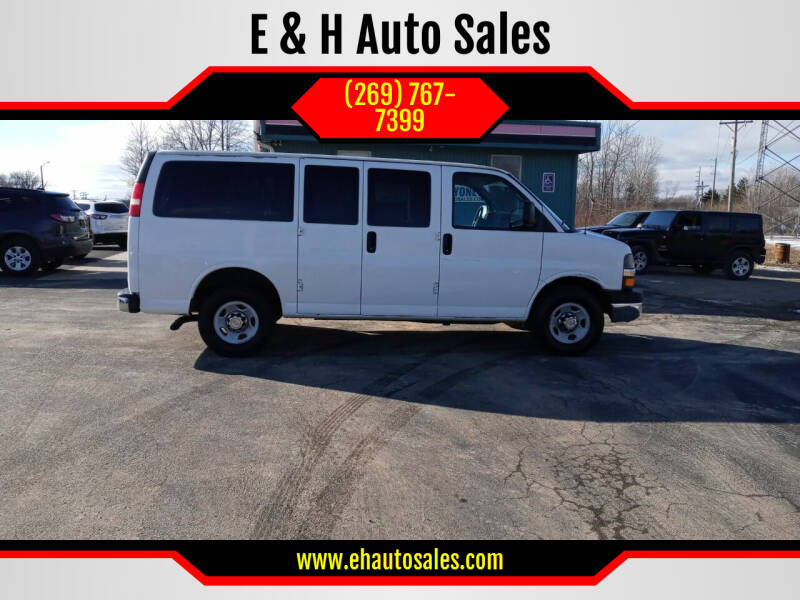 2013 Chevrolet Express Passenger for sale at E & H Auto Sales in South Haven MI