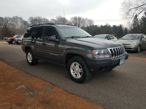 2003 Jeep Grand Cherokee for sale at Shores Auto in Lakeland Shores MN