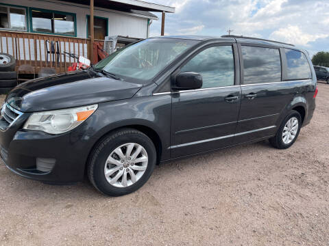 2012 Volkswagen Routan for sale at PYRAMID MOTORS - Fountain Lot in Fountain CO