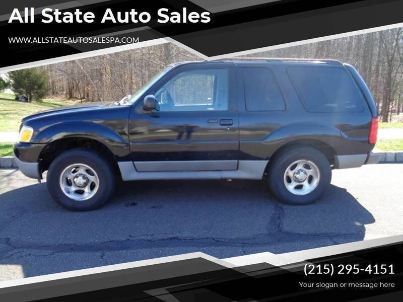 2003 Ford Explorer Sport for sale at All State Auto Sales in Morrisville PA