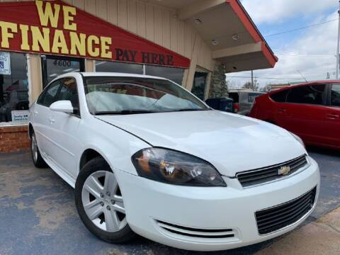 2010 Chevrolet Impala for sale at Caspian Auto Sales in Oklahoma City OK