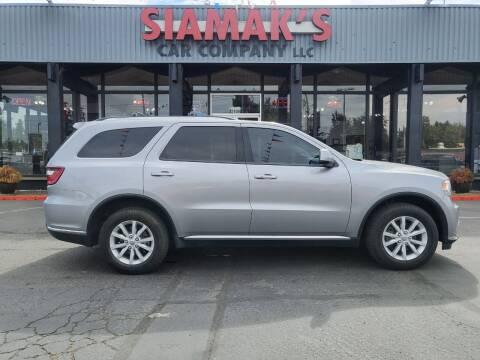 2015 Dodge Durango for sale at Siamak's Car Company llc in Salem OR