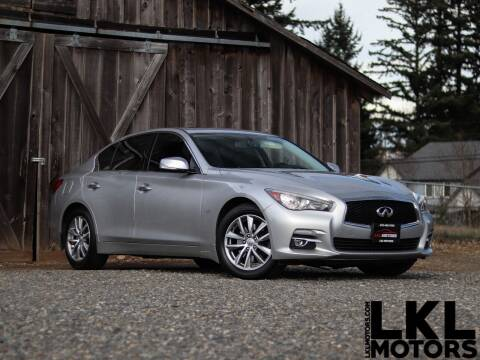 2014 Infiniti Q50 for sale at LKL Motors in Puyallup WA