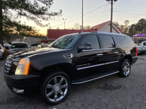 2007 Cadillac Escalade ESV for sale at Car Online in Roswell GA