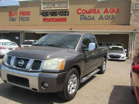 2004 Nissan Titan for sale at Import Motors in Bethany OK
