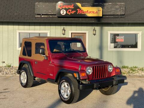 1998 Jeep Wrangler for sale at Good 2 Go Motors LLC in Adrian MI