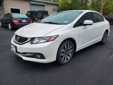 2015 Honda Civic for sale at AFFORDABLE IMPORTS in New Hampton NY