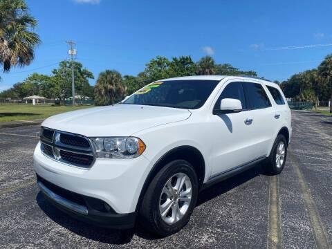 2013 Dodge Durango for sale at Lamberti Auto Collection in Plantation FL