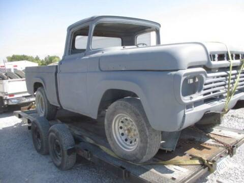 1958 Ford F-250 for sale at Classic Car Deals in Cadillac MI