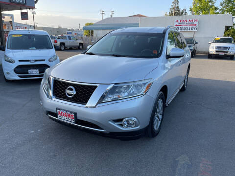 2015 Nissan Pathfinder for sale at Adams Auto Sales in Sacramento CA