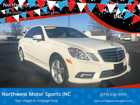 2010 Mercedes-Benz E-Class for sale at Northwest Motor Sports INC in Rogers AR