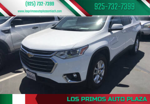 2019 Chevrolet Traverse for sale at Los Primos Auto Plaza in Antioch CA