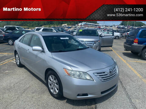 2009 Toyota Camry for sale at Martino Motors in Pittsburgh PA