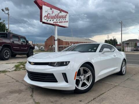 2016 Chevrolet Camaro for sale at Southwest Car Sales in Oklahoma City OK