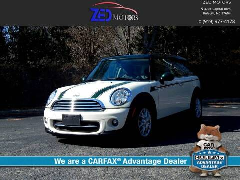 2014 MINI Clubman for sale at Zed Motors in Raleigh NC