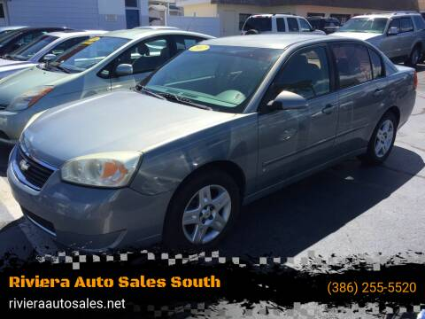 2007 Chevrolet Malibu for sale at Riviera Auto Sales South in Daytona Beach FL