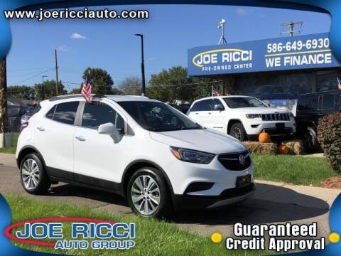 2020 Buick Encore for sale at JOE RICCI AUTOMOTIVE in Clinton Township MI