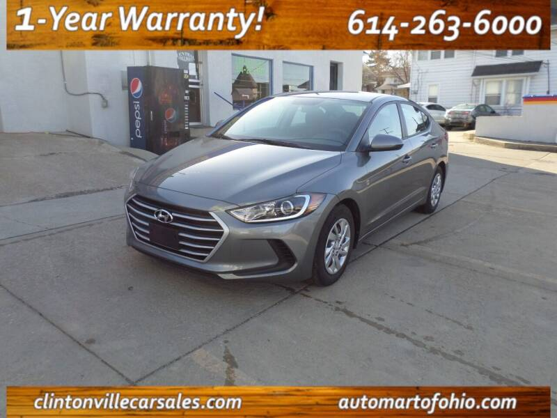 2018 Hyundai Elantra for sale at Clintonville Car Sales in Columbus OH