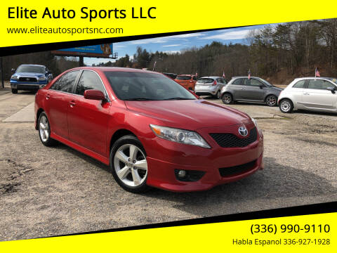 2011 Toyota Camry for sale at Elite Auto Sports LLC in Wilkesboro NC