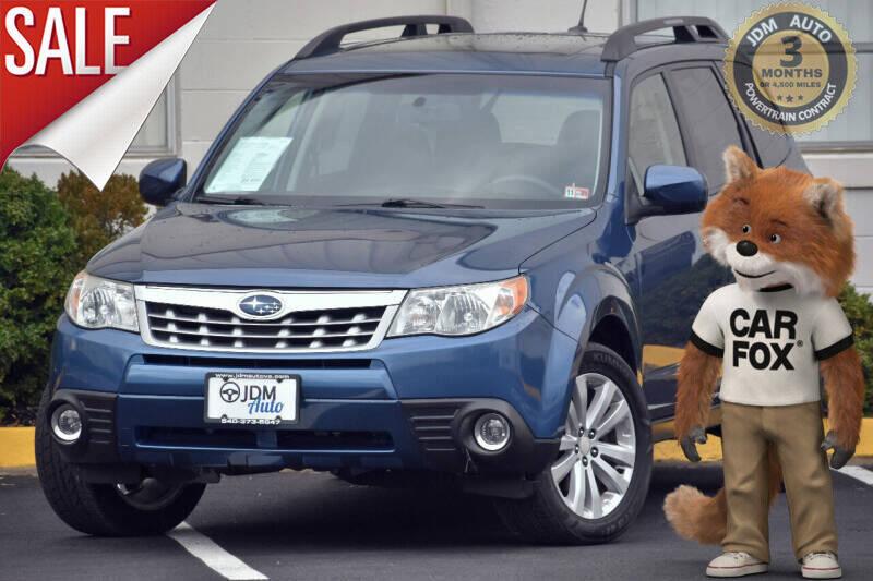 2011 Subaru Forester for sale at JDM Auto in Fredericksburg VA
