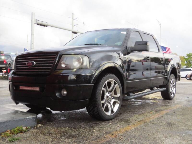 2008 Ford F-150 for sale at DK Auto Sales in Hollywood FL