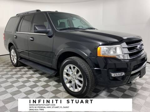 2017 Ford Expedition for sale at Infiniti Stuart in Stuart FL