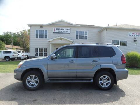 2007 Lexus GX 470 for sale at SOUTHERN SELECT AUTO SALES in Medina OH