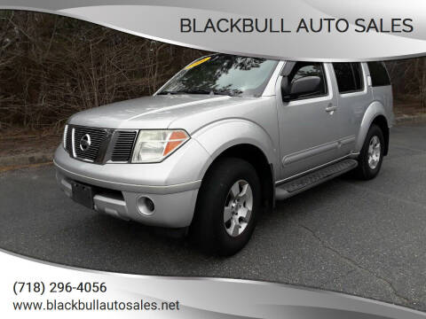 2006 Nissan Pathfinder for sale at Blackbull Auto Sales in Ozone Park NY