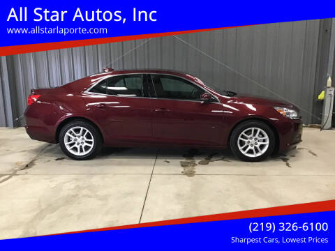 2015 Chevrolet Malibu for sale at All Star Autos, Inc in La Porte IN