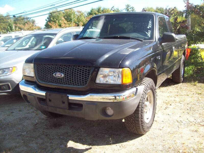 2003 Ford Ranger for sale at Frank Coffey in Milford NH