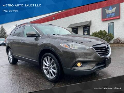2015 Mazda CX-9 for sale at METRO AUTO SALES LLC in Blaine MN