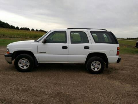 2003 Chevrolet Tahoe for sale at Dakota Sales & Equipment in Arlington SD