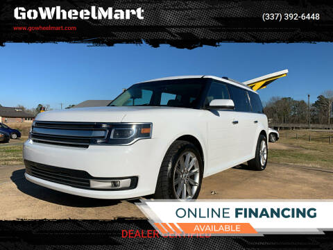 2016 Ford Flex for sale at GoWheelMart in Leesville LA