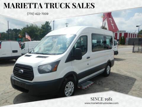 2017 Ford Transit Passenger for sale at Marietta Truck Sales in Marietta GA