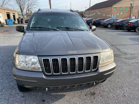2002 Jeep Grand Cherokee for sale at YASSE'S AUTO SALES in Steelton PA