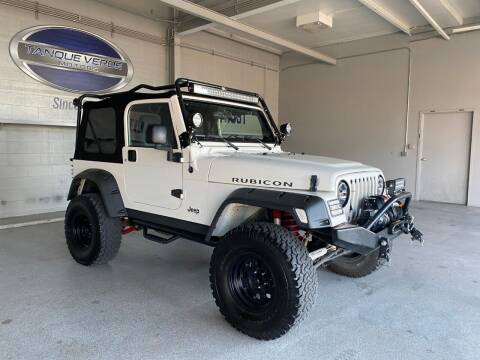 2006 Jeep Wrangler for sale at TANQUE VERDE MOTORS in Tucson AZ