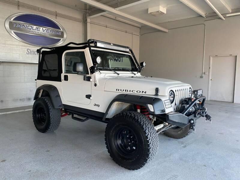 2006 Jeep Wrangler for sale at TANQUE VERDE MOTORS in Tucson AZ