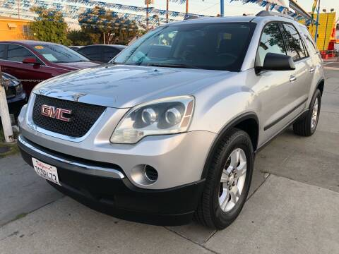 2011 GMC Acadia for sale at Plaza Auto Sales in Los Angeles CA