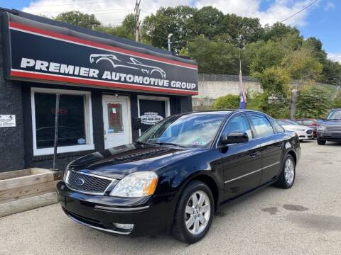 2005 Ford Five Hundred for sale at Premier Automotive Group in Pittsburgh PA