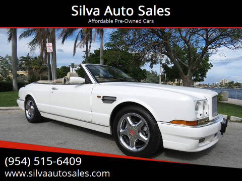 1998 Bentley Azure for sale at Silva Auto Sales in Pompano Beach FL