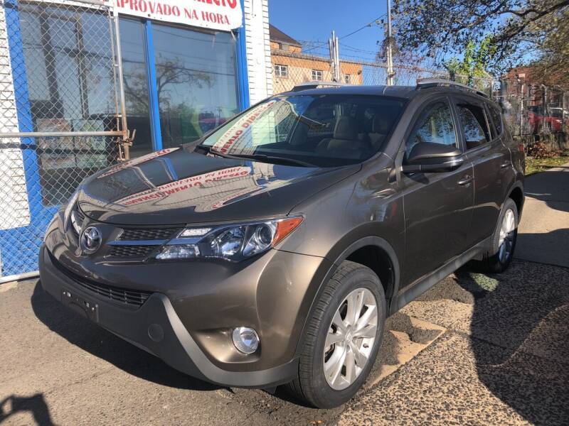 2015 Toyota RAV4 for sale at DEALS ON WHEELS in Newark NJ