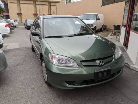 2004 Honda Civic for sale at Auto City in Redwood City CA