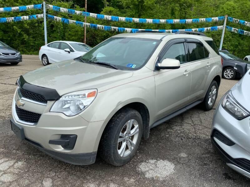 2015 Chevrolet Equinox for sale at Matt Jones Preowned Auto in Wheeling WV