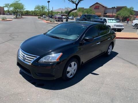 2015 Nissan Sentra for sale at San Tan Motors in Queen Creek AZ