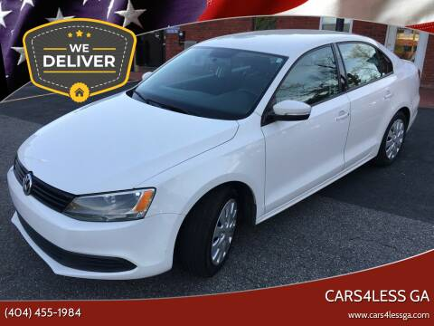 2011 Volkswagen Jetta for sale at Cars4Less GA in Alpharetta GA