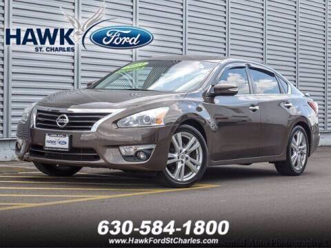 2013 Nissan Altima for sale at Hawk Ford of St. Charles in St Charles IL