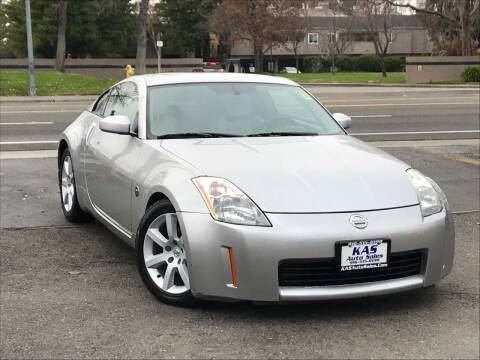 2004 Nissan 350Z for sale at KAS Auto Sales in Sacramento CA