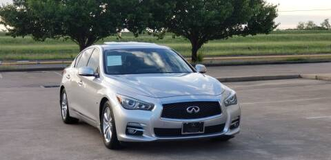 2014 Infiniti Q50 for sale at America's Auto Financial in Houston TX