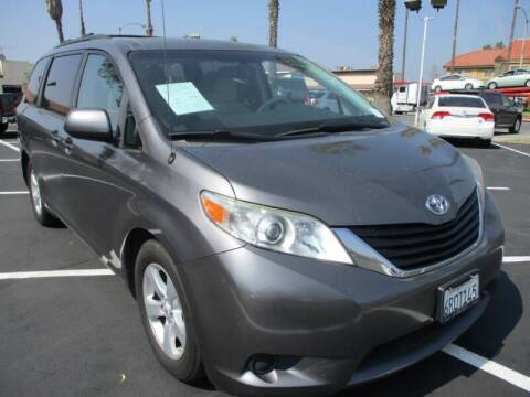 2011 Toyota Sienna for sale at F & A Car Sales Inc in Ontario CA